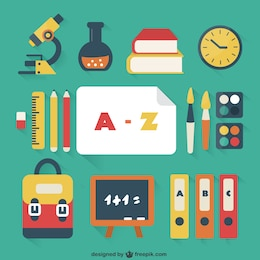 Pack de útiles escolares