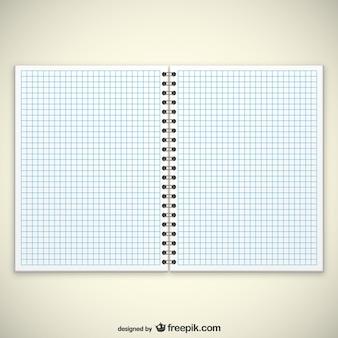 Páginas de cuaderno