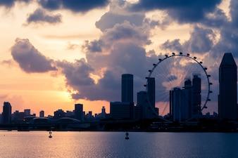 Paisaje del Singapur