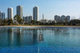 Paisaje urbano asiático