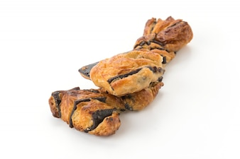 Palito de pan con chocolate