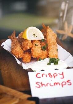 Palitos de pescado fritos