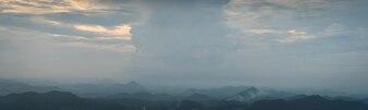 Panorámica de nubes