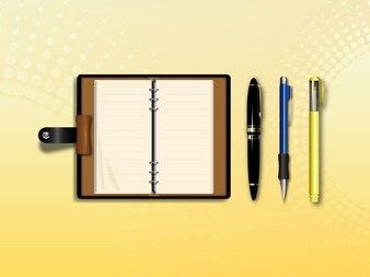 papelería y material de oficina de vectores