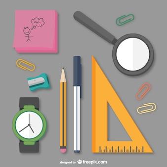 Paquete de útiles escolares
