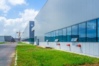Parque Industrial, edificio de fábrica, almacén