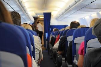 Los pasajeros a bordo