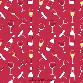 Patrón de bodega de vinos