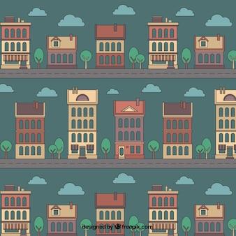 Patrón de casas incompletas