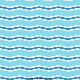 Patrón de Chevron en tonos azules