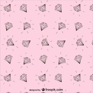 Patrón de diamantes
