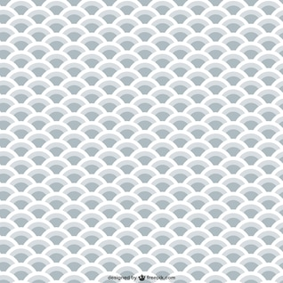 Patrón de escamas grises