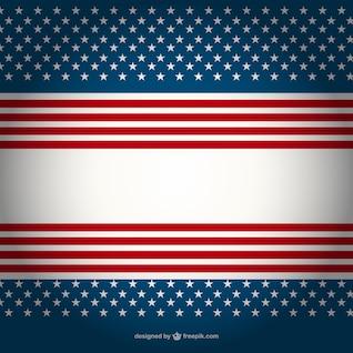 Patrón de fondo de Estados Unidos