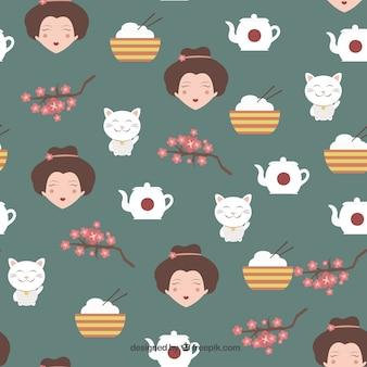 Patrón de la cultura japonesa