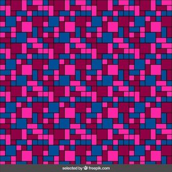 Patrón de mosaico de colores