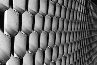 Patrón de panal pared