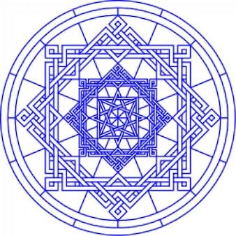 patrón geomertical