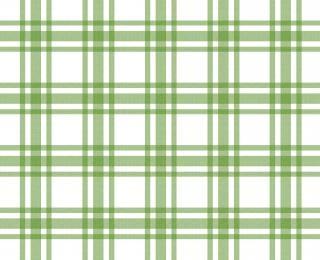 patrón mantel verde y blanco