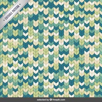 Patrón poligonal cosido