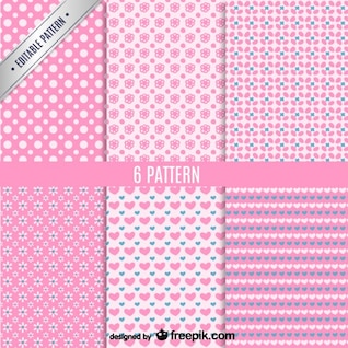 Patrones de fondo rosa