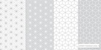 Patrones photoshop sin fisuras geométricas