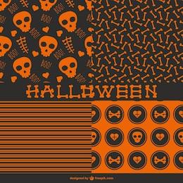 Patrones sin fisuras para Halloween