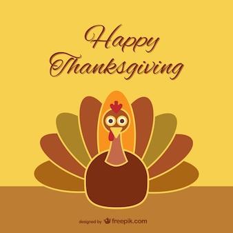 Pavo simpático para Acción de Gracias