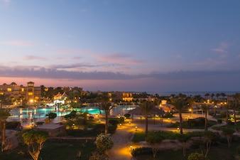 Pensee Royal Azur complejo turístico piscinas