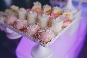 Pequeños pasteles