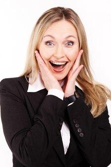 Persona alegre alegría cuello Welldressed