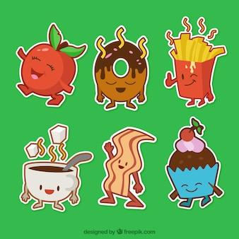 Personajes alimentos