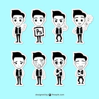 Personajes emoticonos