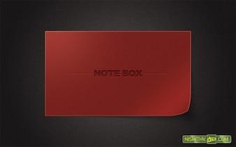 personalizada rizado interfaz de contenido de la caja psd