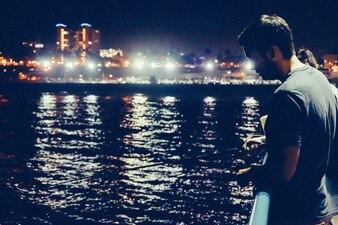 Pesca en la noche