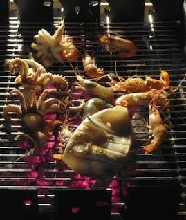pescado asado a la parilla