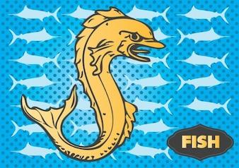 pescado vector