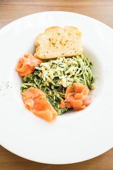 Pesto de espaguetis