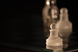 piezas de ajedrez peón peones del juego de mesa
