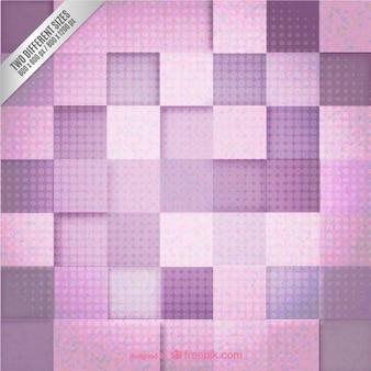 Fondo geométrico rosado y púrpura