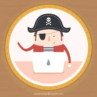 Pirata en la web