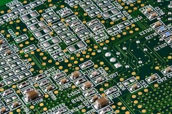 Placa de circuito textura