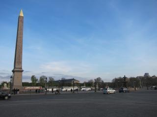 Place du Concorde, Monumentos
