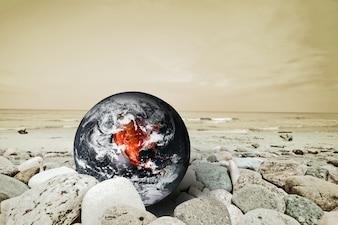 Planeta tierra en peligro