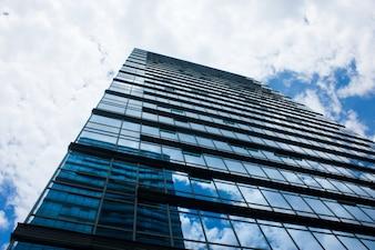 Plano nadir de una edificio