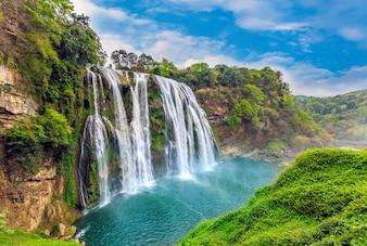 Planta agua paisaje montañas arroyos