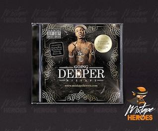 Plantilla CD Cover Hip Hop / Rap