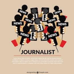 Plantilla conceptual de periodismo