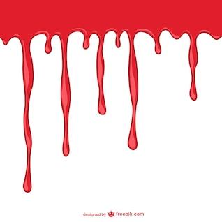 Plantilla de fondo sangre fluyendo