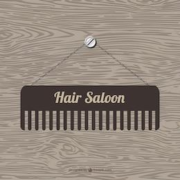 Plantilla de logo de peluquería
