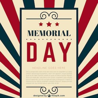 Plantilla de Memorial Day